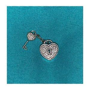 Lock and key Pandora charm